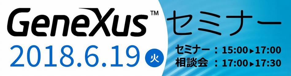 2018.6.19 GeneXusセミナー